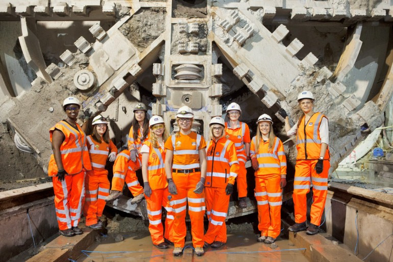 #TeamCrossrail Blog: CHARLOTTE FRANKLIN, TUNNEL BORING MACHINE & CONTROL ROOM ENGINEER