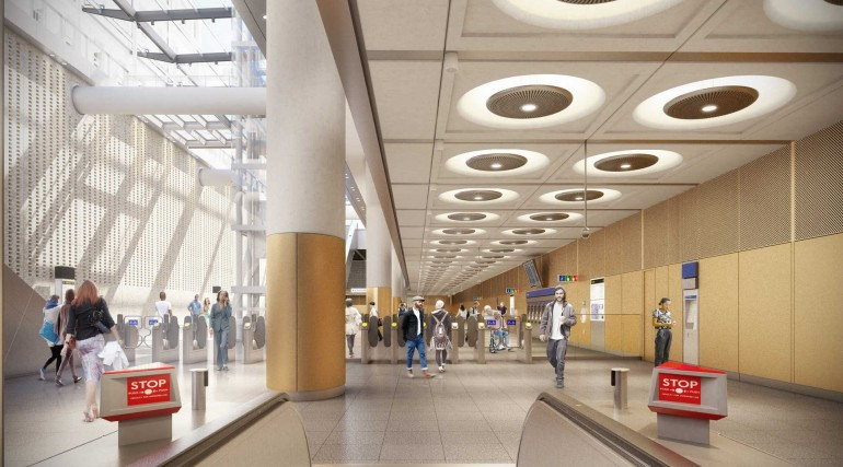 01 Paddington Station - proposed ticket hall_235983
