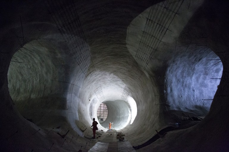 Stunning new images reveal Crossrail's progress