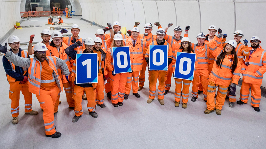 1000 apprenticeships created by the Crossrail programme_294769