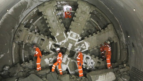 Major success for Crossrail and London Underground at NCE International Tunnelling Awards