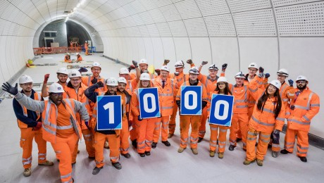 Over 1,000 apprenticeships delivered by Crossrail programme