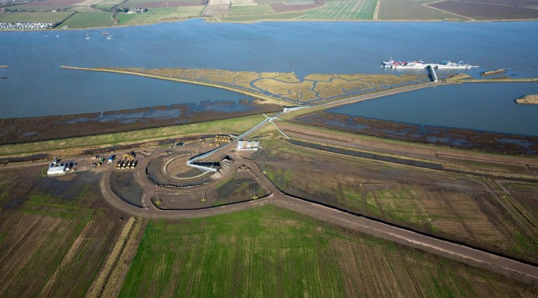 Wallasea Island new nature reserve aerial_ Essex_57939