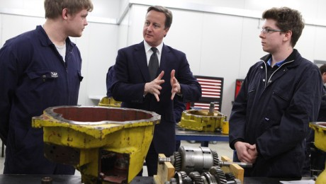 Prime Minister meets Crossrail apprentices during National Apprenticeship Week