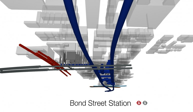 Bond Street BIM Fly-through Still, May 2012