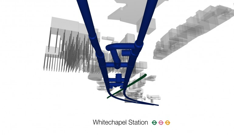 Whitehcapel BIM Fly-through Still, May 2012