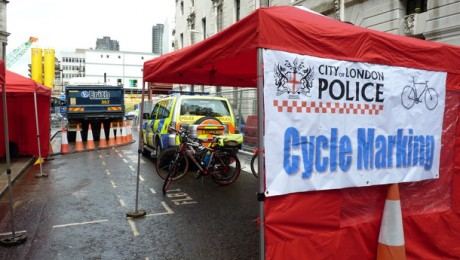 Crossrail holds safety awareness event for cyclists
