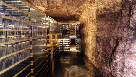 35 million years of London's geology preserved 150 metres underground in Cheshire