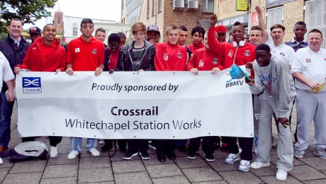 Crossrail contractor sends Tower Hamlets football club to Youth World Cup