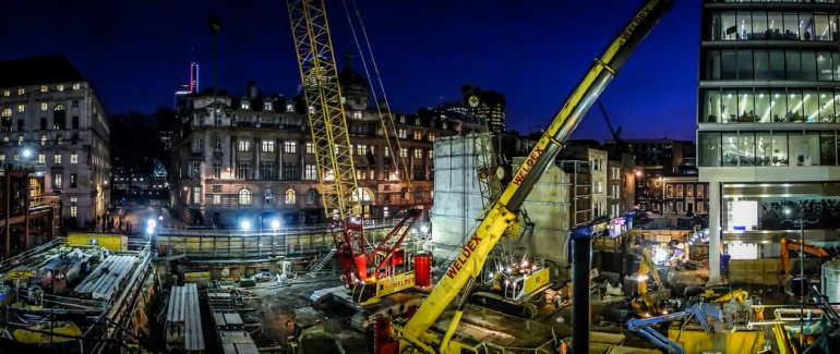 New images show Liverpool Street Crossrail Station making good progress