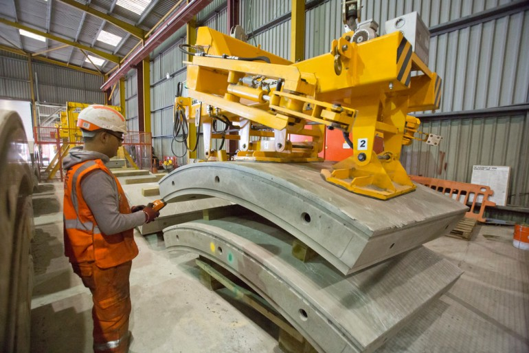 Jobs created at new factory in Kent to supply Crossrail