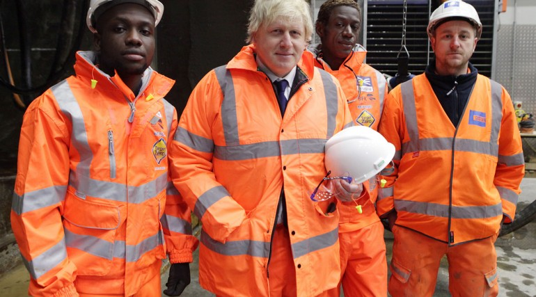 Mayor of London and Transport Minister visit Tunnelling and Underground Construction Academy, March
