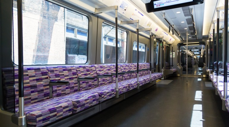 First of new state-of-the-art Elizabeth line trains welcomed into passenger service
