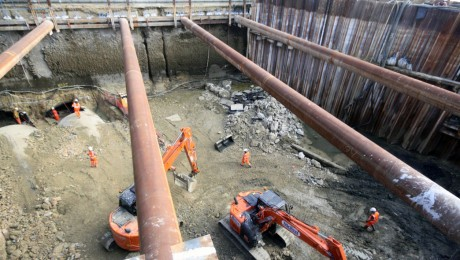 Major works carried out to Victorian rail tunnel for Crossrail