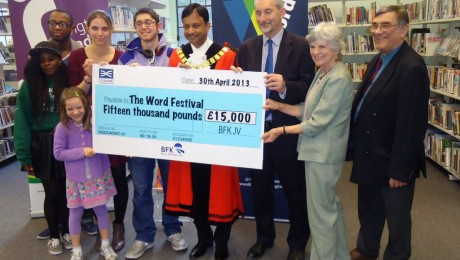 Crossrail helps fund Islington's innovative 'Word Festival 2013'