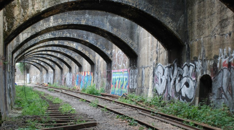 Connaught tunnel approach, May 2011