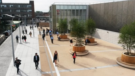 First Crossrail public realm improvements delivered