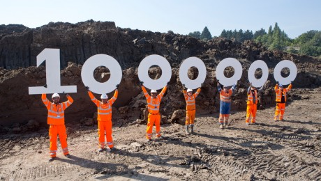 1 millionth tonne of earth removed from Crossrail's west London tunnels