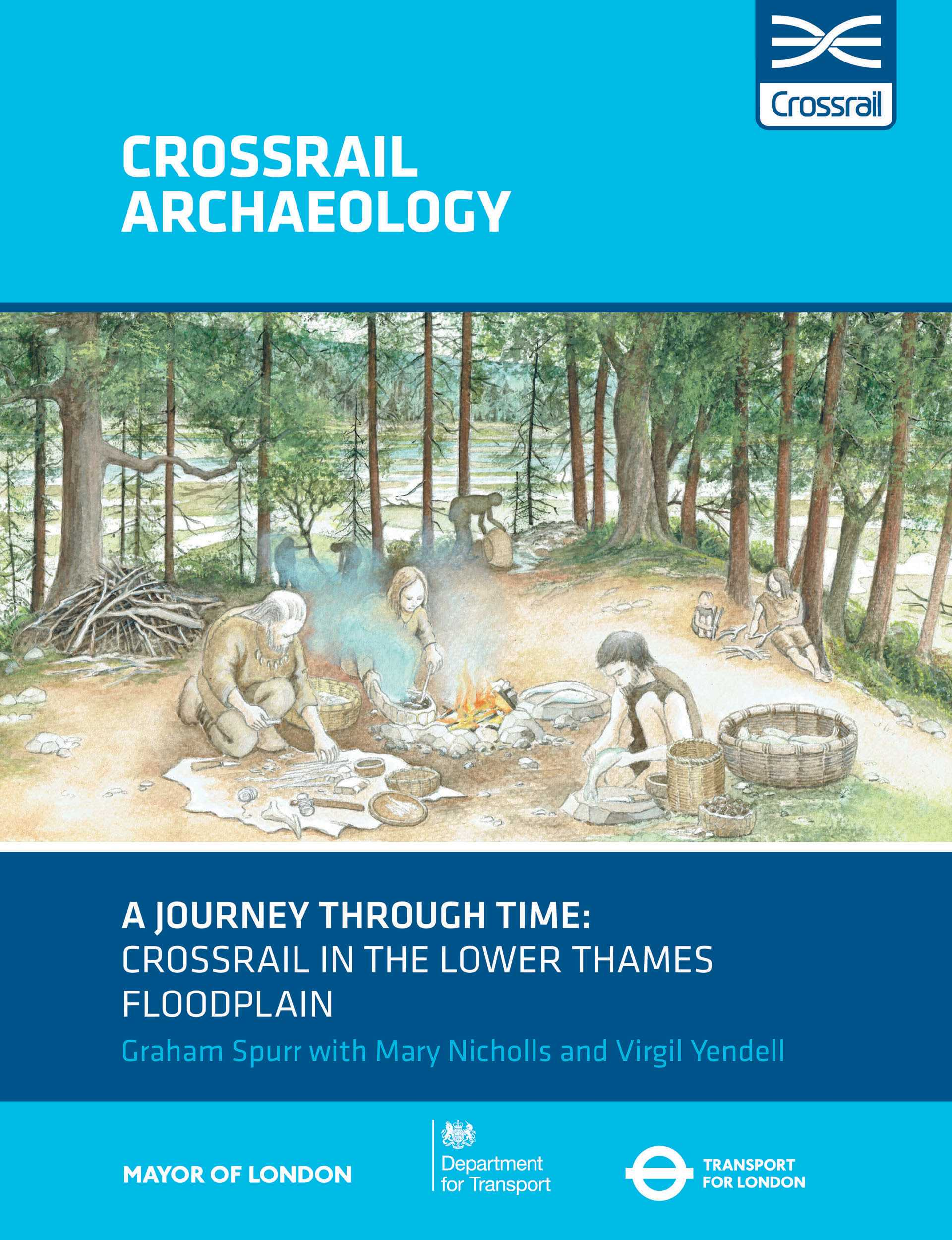 Crossrail archaeology - A Journey Through Time cover_292050