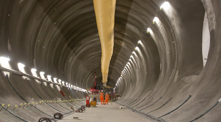 Bond Street Station - tunnels 30 metres below Oxford Street now finished_209778