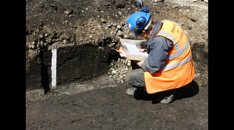 Bronze Age finds uncovered during excavation of Crossrail's Plumstead Portal_55588