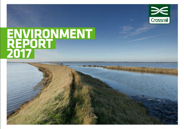 Crossrail publishes 2017 Environment Report