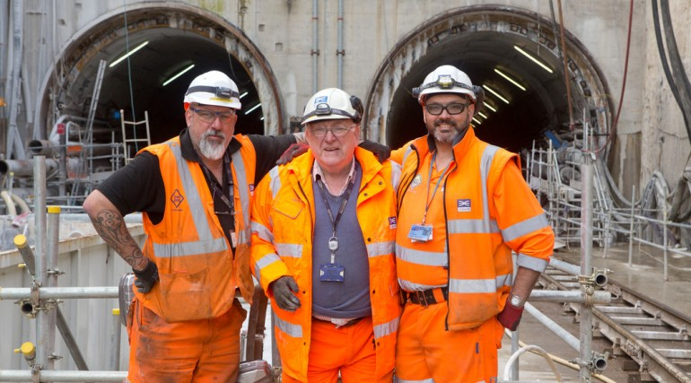 Record breaking Crossrail tunneller set to bow out after fifty years in the business_137123