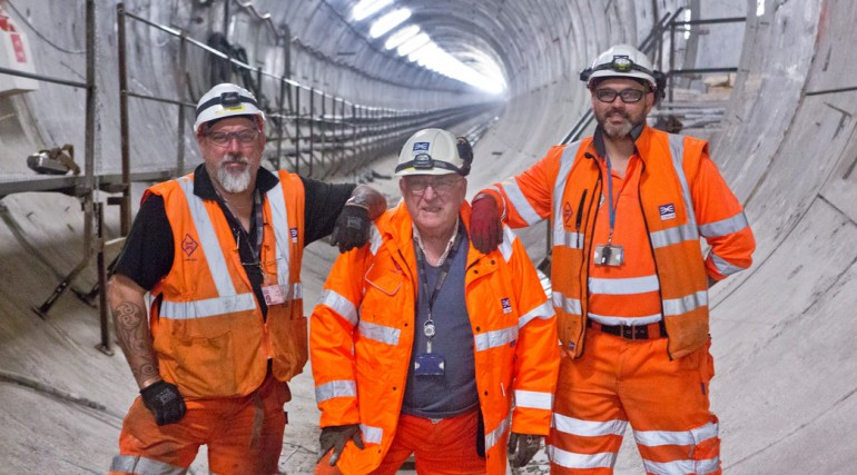 Record breaking Crossrail tunneller set to bow out after fifty years in the business_137140