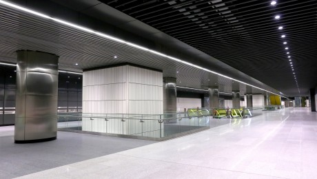 New images of Canary Wharf station released as station construction completes