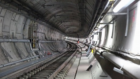 Elizabeth line permanent track installation is complete