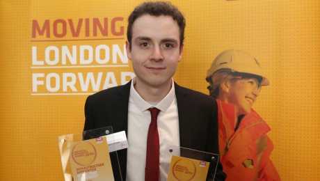 Crossrail unveils apprentice of the year 2015