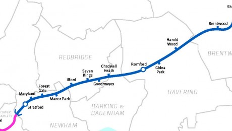 Crossrail submits plans for improvements to Goodmayes station