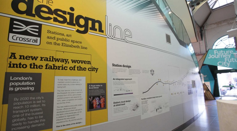 Crossrail Designline exhibition at London Transport Museum_241546
