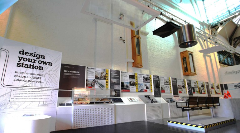 Crossrail Designline exhibition at London Transport Museum_241547