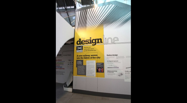 Crossrail Designline exhibition at London Transport Museum_241549