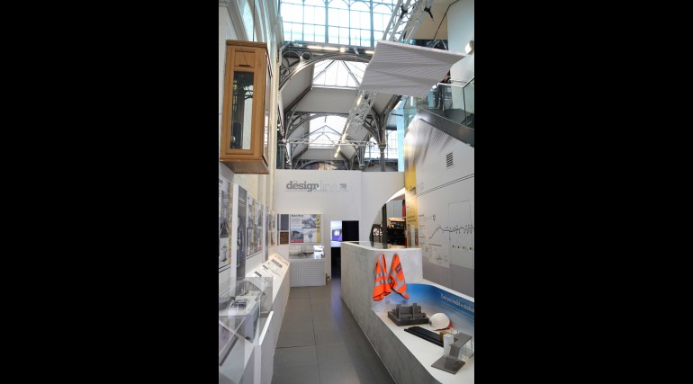 Crossrail Designline exhibition at London Transport Museum_241555