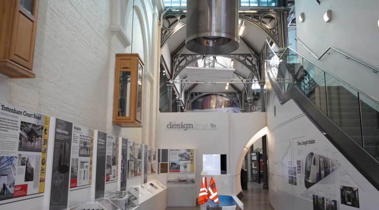 Crossrail Designline exhibition at London Transport Museum_241556