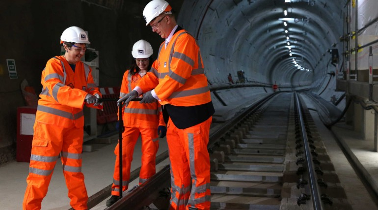 Elizabeth line permanent track installation is complete_281243