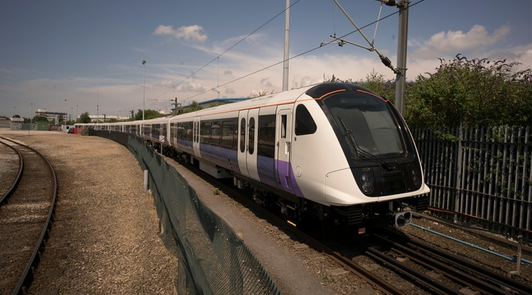 Elizabeth line trains in production_242726