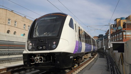 Footage of train testing under London and new construction images highlight Elizabeth line progress