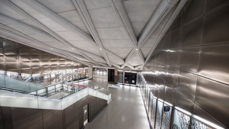 Construction works complete at Farringdon Elizabeth line station