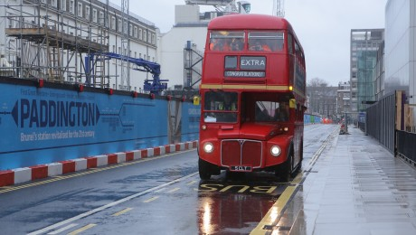 Paddington's Eastbourne Terrace reopens to buses