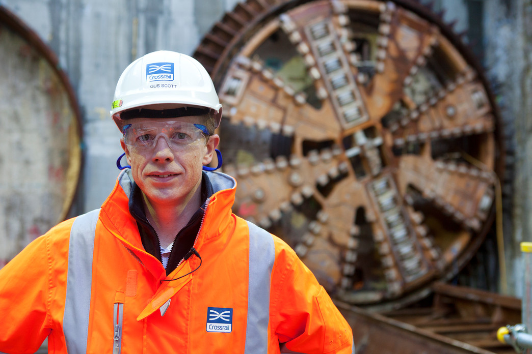 Gus Scott - Project Manager, Crossrail Thames Tunnel_122577