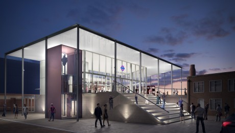 Crossrail unveils plans for new station building at Hayes & Harlington