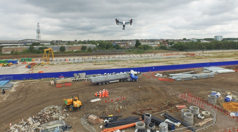 Use of drone to undertake site surveys_206465
