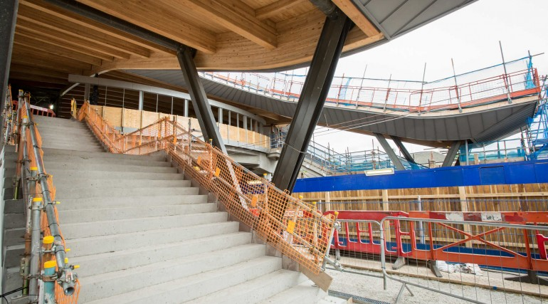 New interchange footbridge at Abbey Wood station_279092