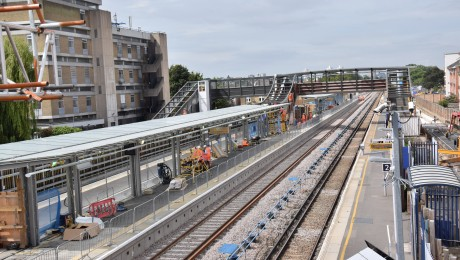 Abbey Wood station gets another new platform as part of major rebuild for the Crossrail project
