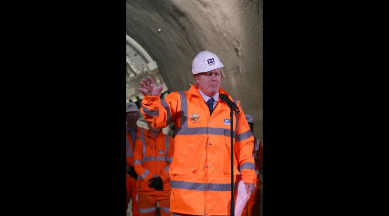 Prime Minister and Mayor of London celebrate completion of Crossrail_s tunnelling marathon_200346