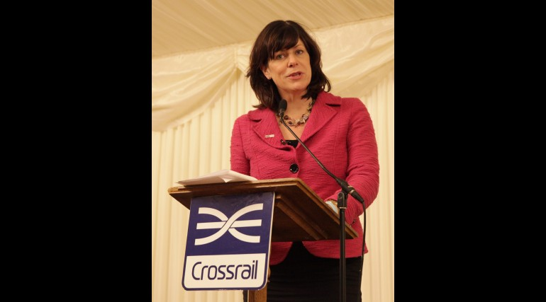 Rail Minister Claire Perry celebrates contribution of women to Crossrail_220809