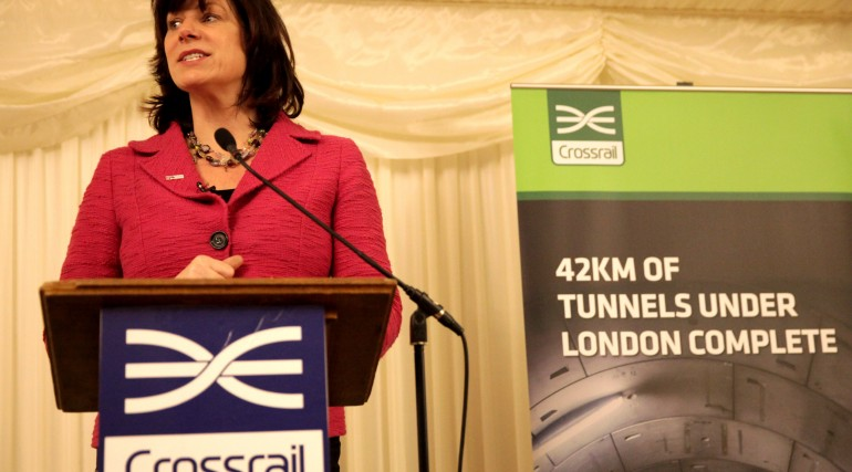 Rail Minister Claire Perry celebrates contribution of women to Crossrail_220812